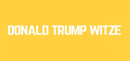 Donald Trump Witze